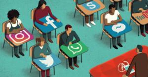 Social media to help study