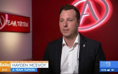 Hayden McEvoy Answering Home Schooling Questions on The Today Show